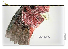 Bruno The Ko Shamo Rooster Carry-all Pouch