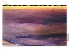 Brushed 6 - Vertical Sunset Carry-all Pouch
