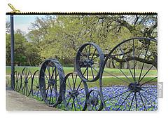 Brushy Creek Bluebonnets Carry-all Pouch by Janette Boyd