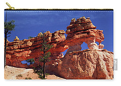 Carry-all Pouch featuring the photograph Bryce Canyon National Park by Sally Weigand