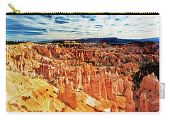 Carry-all Pouch featuring the photograph Bryce Canyon Overlook by Norman Hall