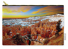 Carry-all Pouch featuring the photograph Bryce Canyon Sunrise by Norman Hall