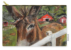 Bubba - Steals The Show -donkey Carry-all Pouch by Jan Dappen
