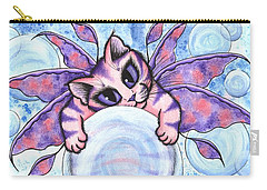 Bubble Fairy Kitten Carry-all Pouch