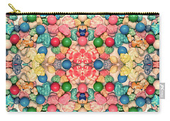 Carry-all Pouch featuring the digital art Bubble Gum #9776 by Barbara Tristan