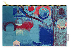 Carry-all Pouch featuring the painting Bubble Tree - 85e-j4 by Variance Collections