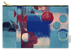 Carry-all Pouch featuring the painting Bubble Tree - 85l-j4 by Variance Collections