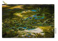 Bubbles And Reflections Carry-all Pouch by Marvin Spates