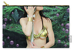 Bubbles And Sword Carry-all Pouch