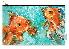 Bubbles Carry-all Pouch by Judith Levins