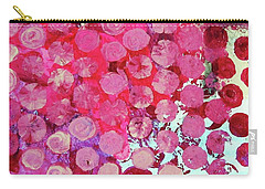 Carry-all Pouch featuring the mixed media Bubbles by Mary Ellen Frazee