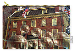 Bubbles Of New York History - Photo Collage Carry-all Pouch