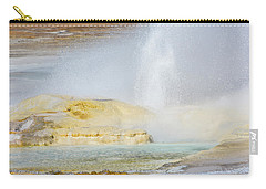 Carry-all Pouch featuring the photograph Bubbling Earth by Colleen Coccia