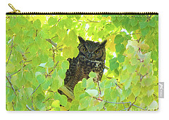 Bubo Virginianus Carry-all Pouch