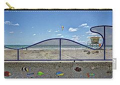 Buccaneer Beach Carry-all Pouch by Ann Patterson