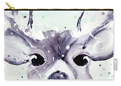 Carry-all Pouch featuring the painting Buck by Dawn Derman