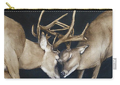 Buck Deers Antlers Shuffle Carry-all Pouch