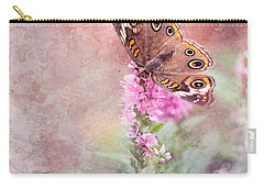 Carry-all Pouch featuring the photograph Buckeye Bliss by Betty LaRue