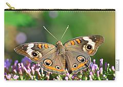 Buckeye Butterfly Carry-all Pouch