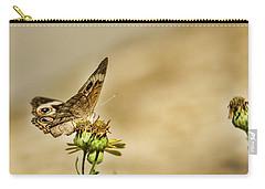 Buckeye Butterfly Carry-all Pouch by Steven Parker