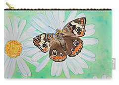 Buckeye On Oxeye Carry-all Pouch