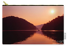 Carry-all Pouch featuring the photograph Buckhorn Lake Sunset by Thomas R Fletcher