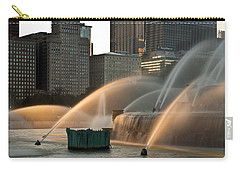 Buckingham Fountain Sidelight  Carry-all Pouch