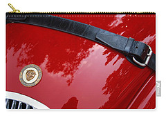 Carry-all Pouch featuring the photograph Buckle Up by John Schneider