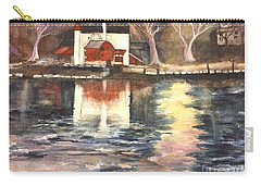 Bucks County Playhouse Carry-all Pouch by Lucia Grilletto