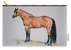 Buckskin Beauty Carry-all Pouch by Cheryl Poland