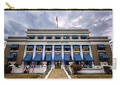 Carry-all Pouch featuring the photograph Buckstaff Bathhouse - Christmas by Stephen Stookey