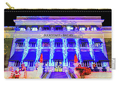 Carry-all Pouch featuring the photograph Buckstaff Baths - Christmastime by Stephen Stookey