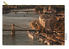 Budapest In The Morning Sun Carry-all Pouch by Jaroslaw Blaminsky