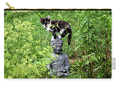 Buddha And Friend Carry-all Pouch