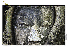 Buddha Head In Banyan Tree Carry-all Pouch