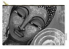Buddha In Grey Tones Carry-all Pouch