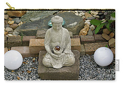 Buddha In The Garden Carry-all Pouch