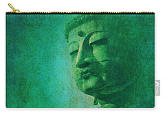 Carry-all Pouch featuring the digital art Buddha by John Wills