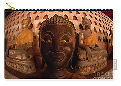 Carry-all Pouch featuring the photograph Buddha Laos 1 by Bob Christopher