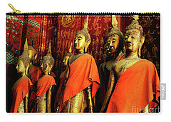 Carry-all Pouch featuring the photograph Buddha Laos 2 by Bob Christopher