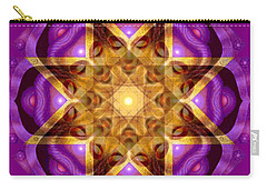 Buddha Mandala Carry-all Pouch by Sue Halstenberg