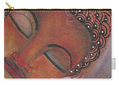 Buddha With Pink Lotus Carry-all Pouch