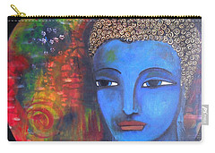 Buddha Within A Circular Background Carry-all Pouch