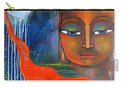 Buddhas Robe Reaching For The Moon Carry-all Pouch