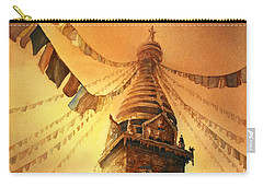 Buddhist Stupa- Nepal Carry-all Pouch