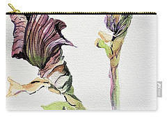 Budding Irises Carry-all Pouch