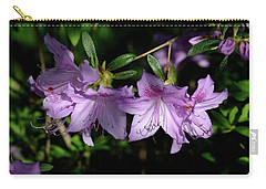 Carry-all Pouch featuring the photograph Buds And Blooms by Angie Tirado
