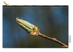 Carry-all Pouch featuring the photograph Buds With Water Drops by Paul Freidlund
