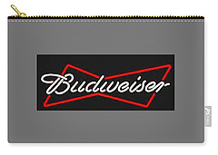 Budweiser T-shirt Carry-all Pouch by Herb Strobino