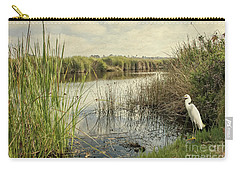 Buena Vista Lagoon-snowy Egret Carry-all Pouch